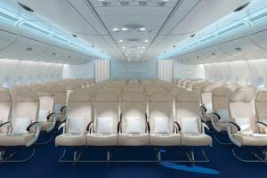 Airbus представил три варианта салона самолёта