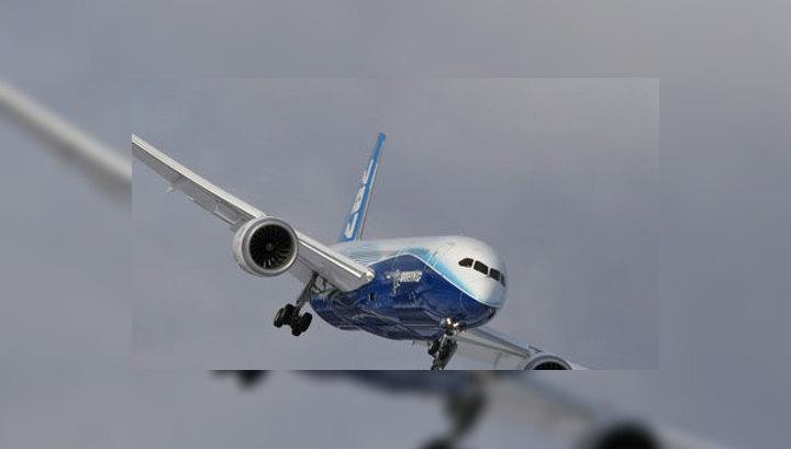 Boeing 787 Dreamliner вернулся в аэропорт вылета из-за сильного ветра