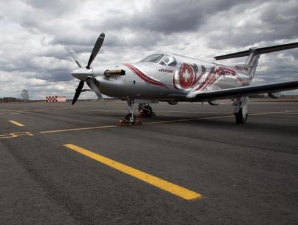 В Шереметьево показали медицинский Pilatus PC-12