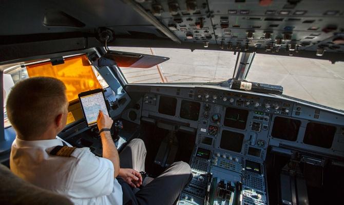 В США несколько десятков рейсов задержаны из-за сбоя в iPad пилотов