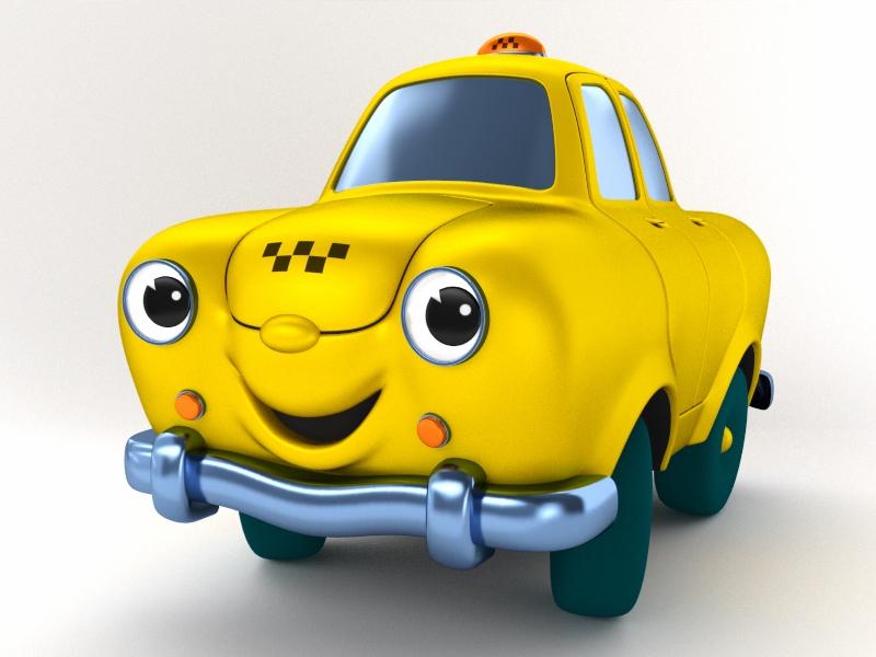 taxi_saturn_3d_yafaray_preview