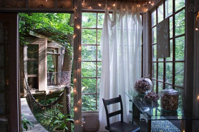 Airbnb предлагает дом на дереве в стиле Питера Пэна