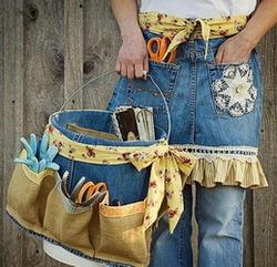 Дама сдавала багаж: что можно сделать из старой джинсы своими руками