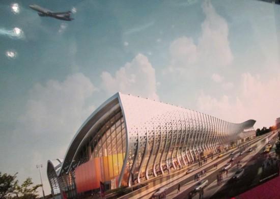 Как будет выглядеть новый аэропорт в Симферополе к 2018 году (фото)