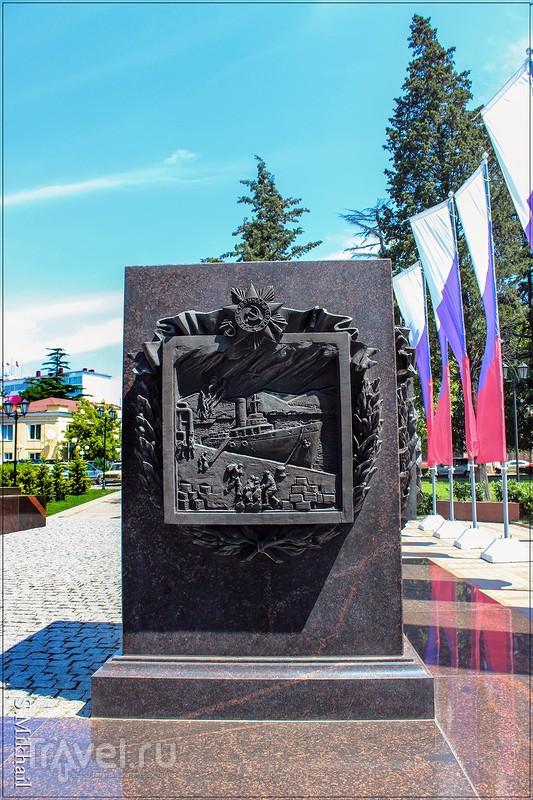"""Памятник-стела """"Город воинской славы"""""""