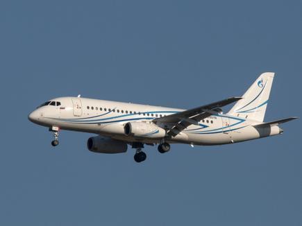 Авиакомпания 'Газпромавиа' получила последний самолет SSJ 100LR0LR