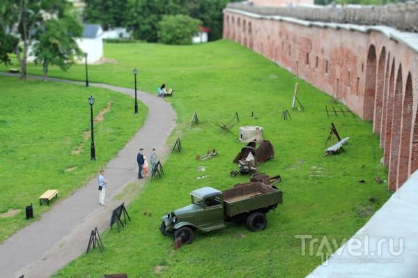 Автомобилем из Петербурга в Великий Новгород