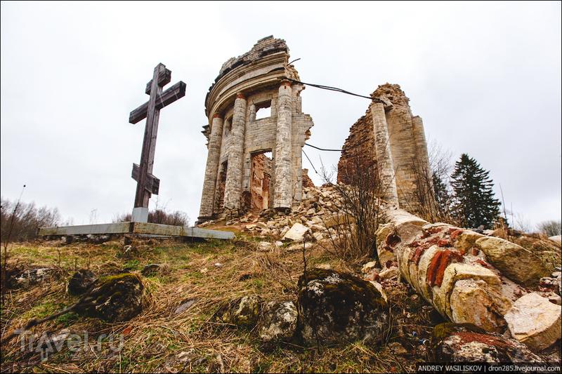 Церковь Святой Троицы в деревне Пятая Гора