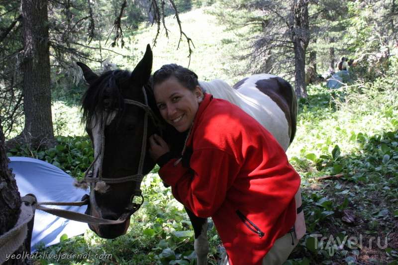 По Горному Алтаю на конях. Дневная вылазка из Ашпагача на озера / Россия