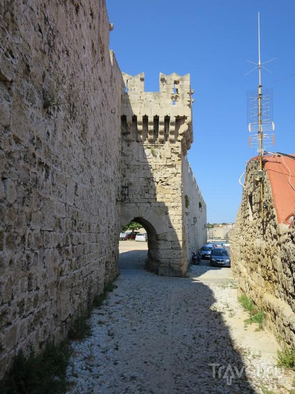Фортификация средневекового Родоса