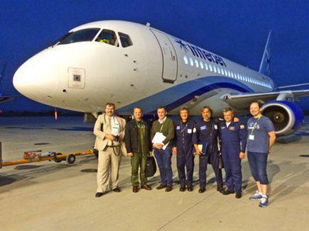 Sukhoi Superjet 100 расширит европейский сертификат