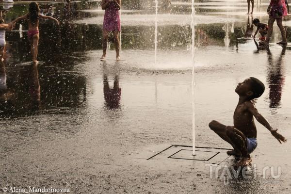 Водная радость - Променад Пайон. Ницца / Франция