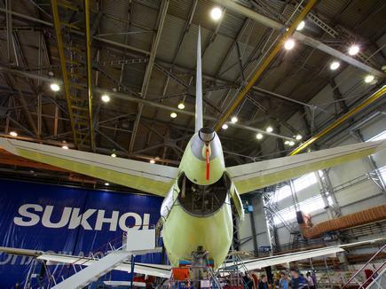 В 2015 году ГСС соберут 17 самолетов SSJ 100