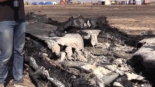Спасатели нашли ещё тела погибших под фюзеляжем разбившегося A321