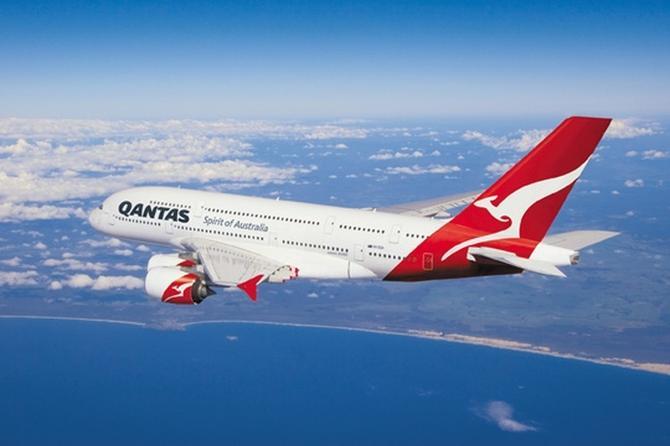 Австралийская авиакомпания Qantas Airways сообщает о росте пассажиропотока